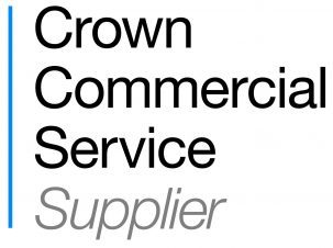 Official logo showing CMC is an accredited supplier on the Crown Commercial Service's Management Consultancy Framework Two